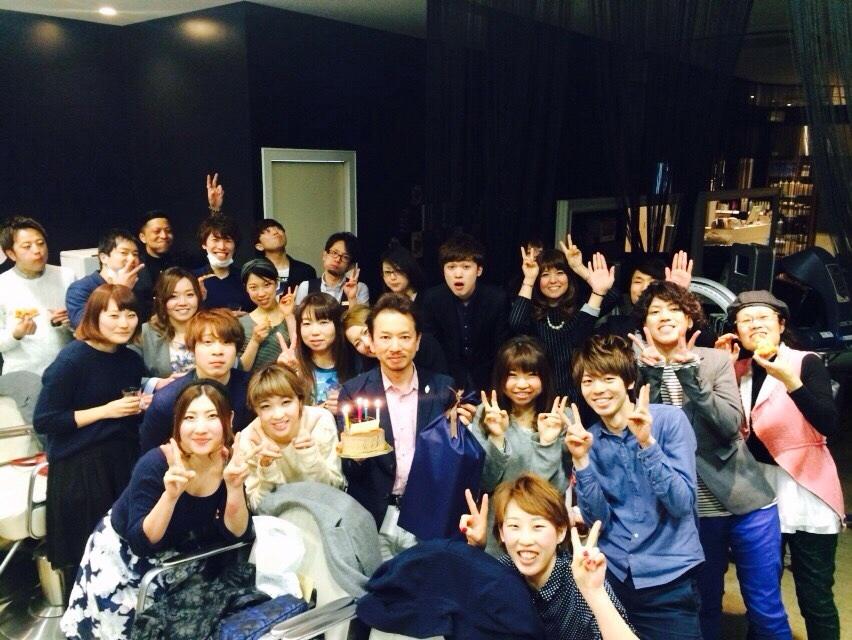 岩井先生、誕生日