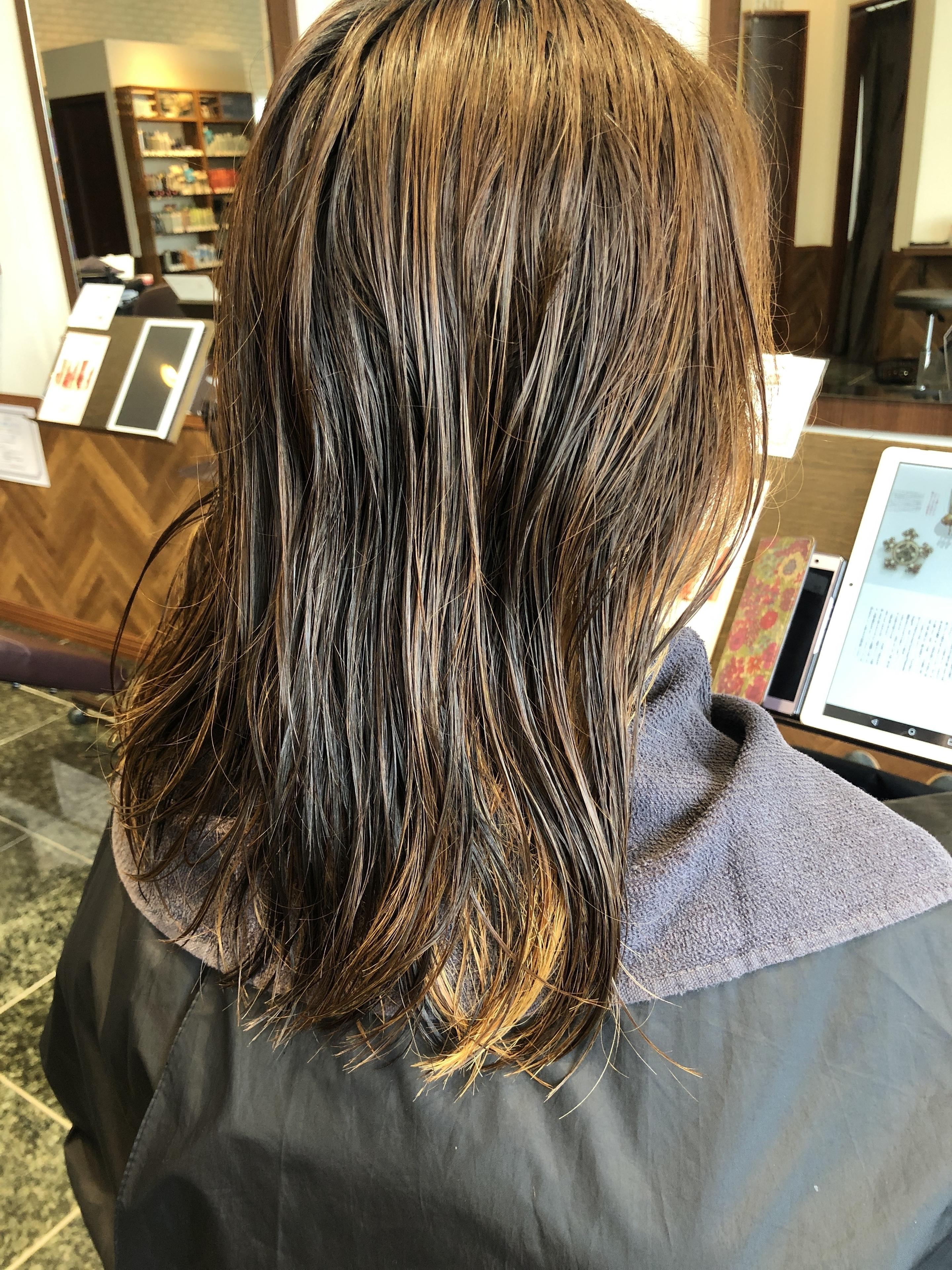 多摩センター髪質改善トリートメント
