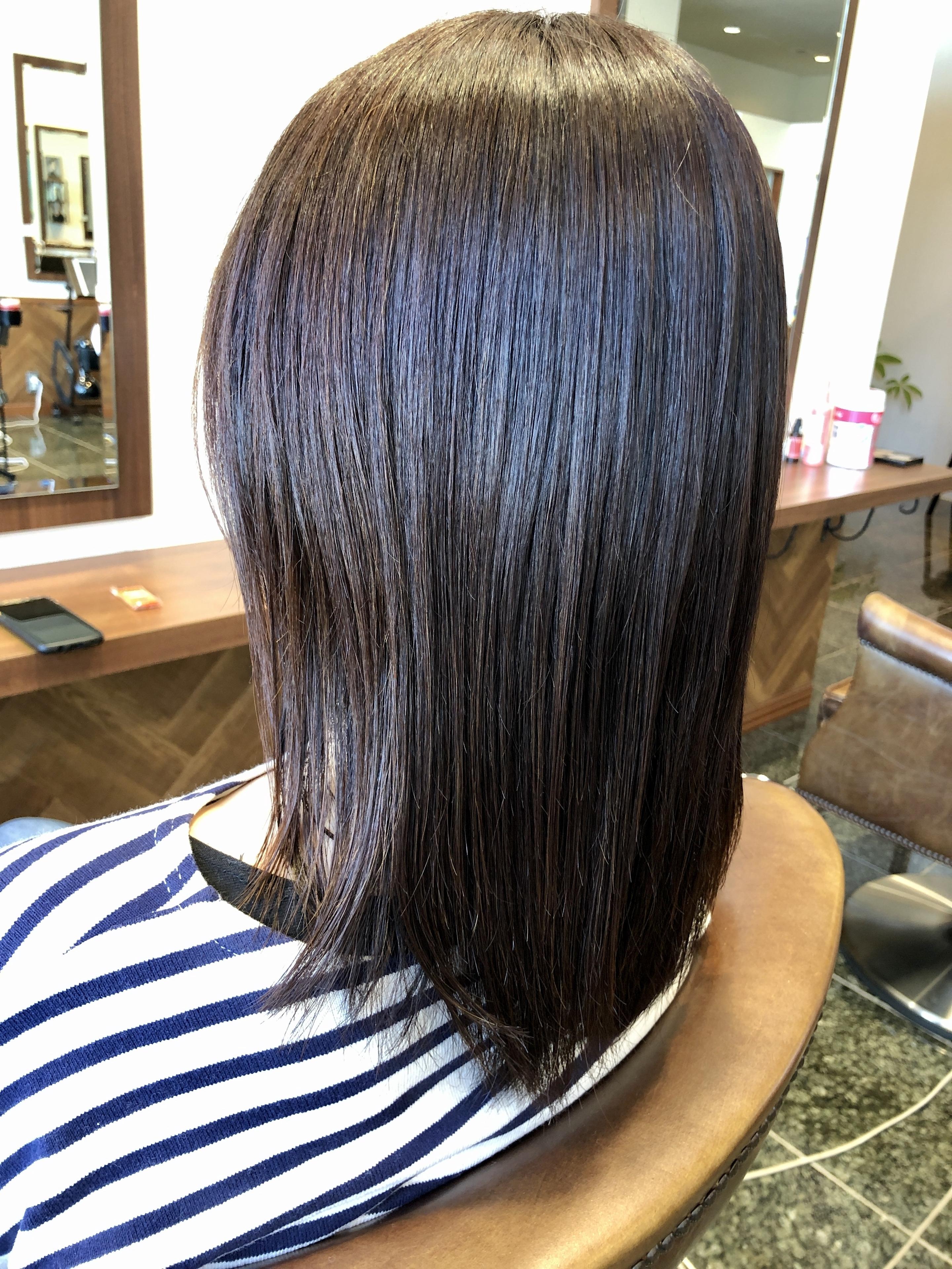 髪質改善酸熱トリートメント多摩センター美容室