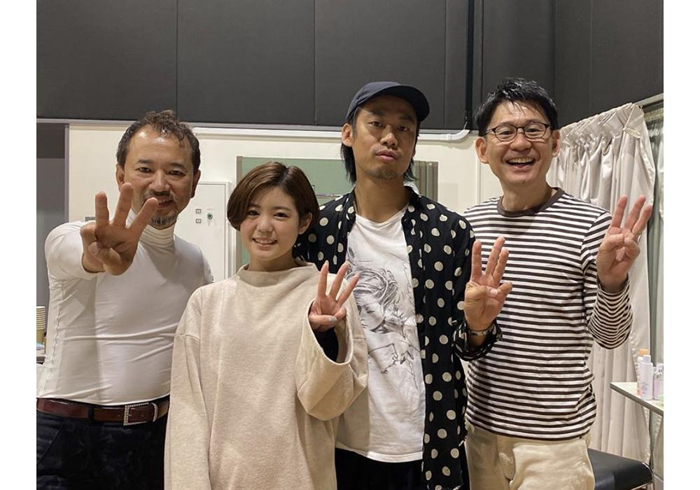 カメラマン松山優介、メイク名取瞳、ヘア岩井邦浩