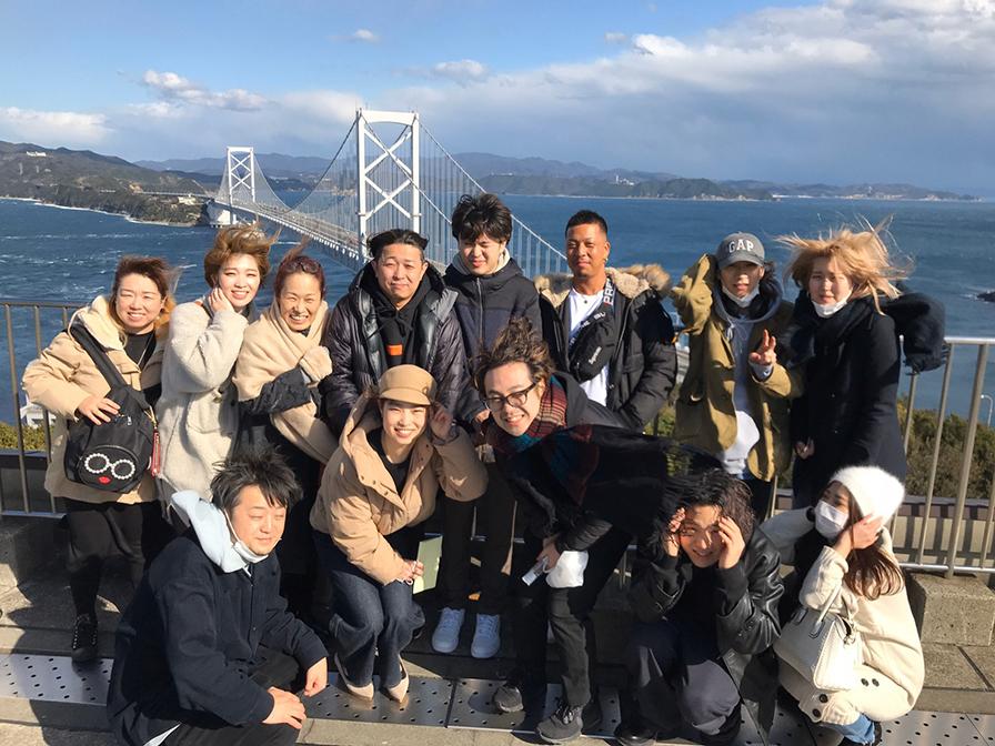 先日、社員旅行で徳島へ!